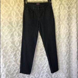 NWOT Not Your Daughters Dark Jeans Size 4 Ankle